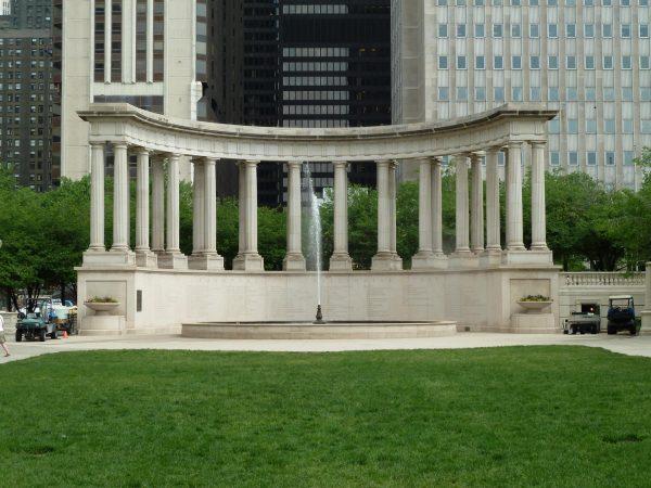 Фонтан Millennium Monument