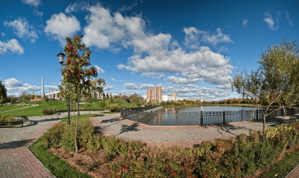 Городской парк Мытищ