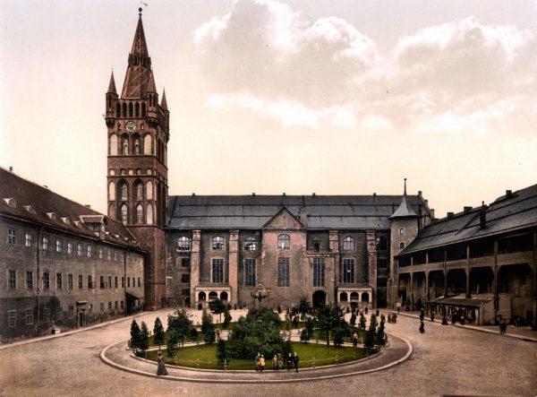 Архивное фото Кёнигсбергского замка