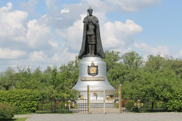 Монумент Николаю II