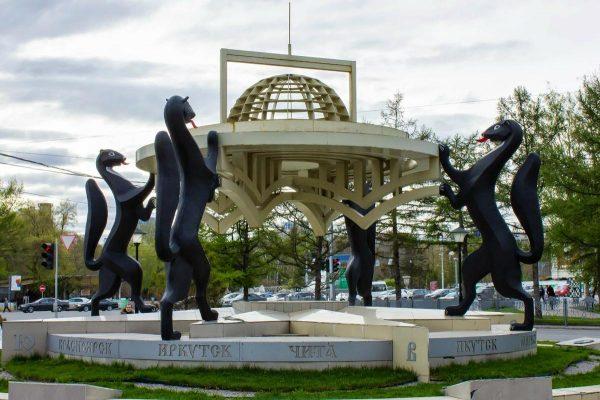 Монумент «Сибирские просторы»