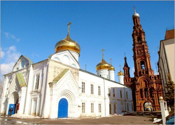 Богоявленский храм и колокольня