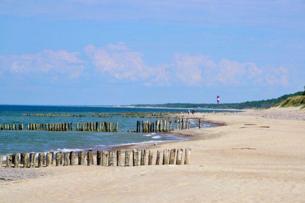 Один из пляжей на Куршской косе