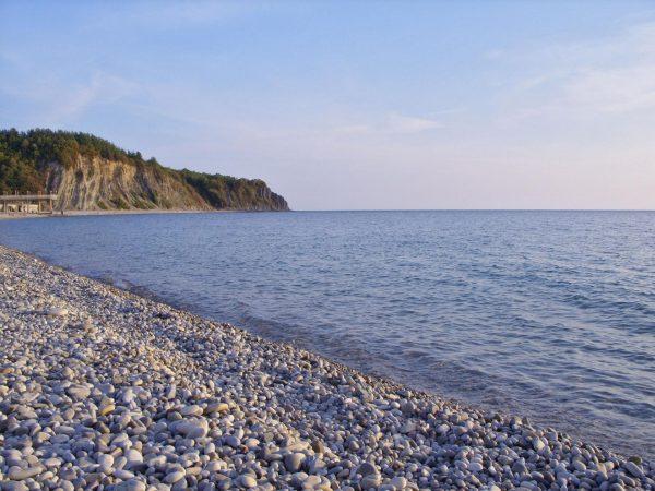 Пляжное побережье Туапсе