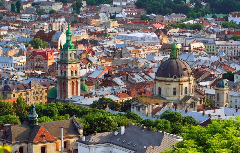 Потрясающие достопримечательности Львова
