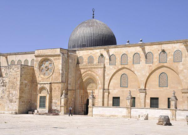 Здание мечети Аль-Акса в Иерусалиме