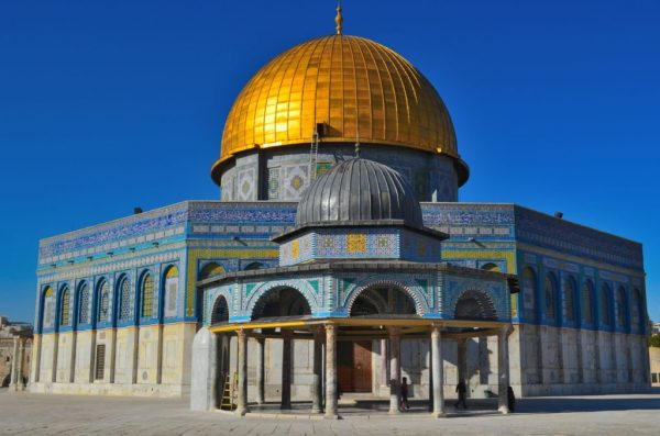 Здание мечети Купол Скалы в Иерусалиме