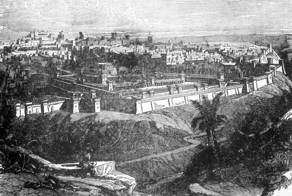 Иерусалим во время земной жизни Христа Спасителя