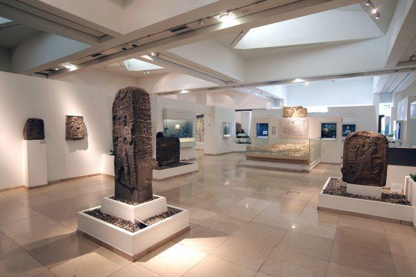 Экспонаты в иерусалимском Музее библейских стран