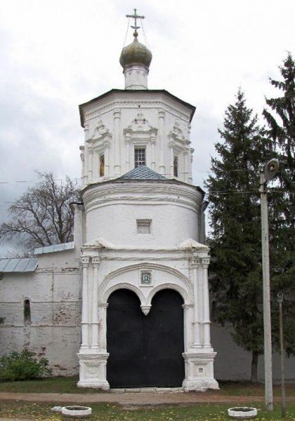 Иоанновская надвратная церковь в Рязани