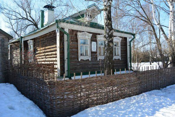 Дом Есенина в Константинове