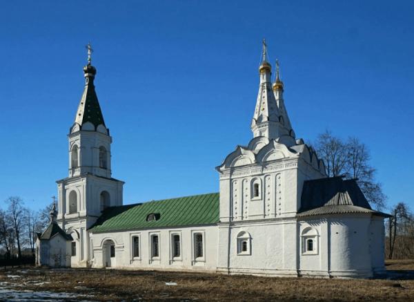 Церковь Сошествия Святого Духа в Рязанском кремле