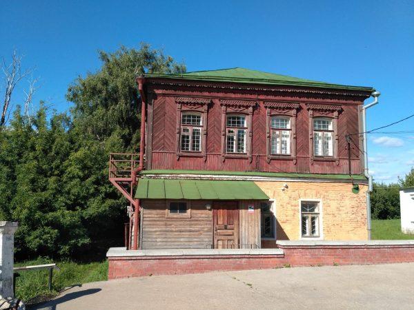 Дом причта в Рязанском кремле