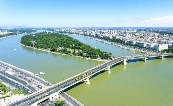 Остров Маргит на Дунае