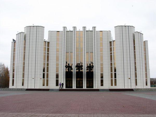 Здание областной филармонии