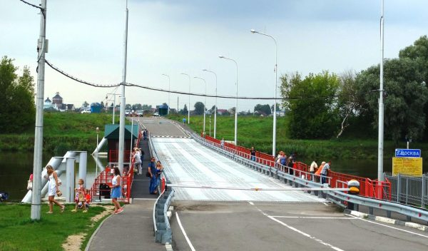 Бобренев мост в Коломне