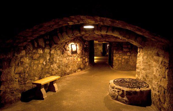 Подземные коридоры Будайского лабиринта