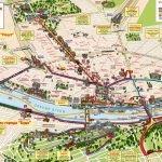 Карта районов Будапешта с улицами и основными достопримечательностями