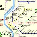 Схема метрополитена Будапешта