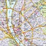 Подробная карта Будапешта с улицами