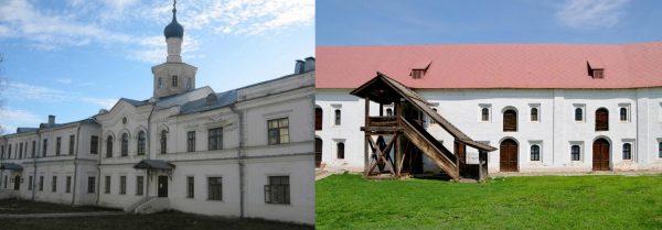 Гостиница знати и Гостиница черни в Рязанском кремле