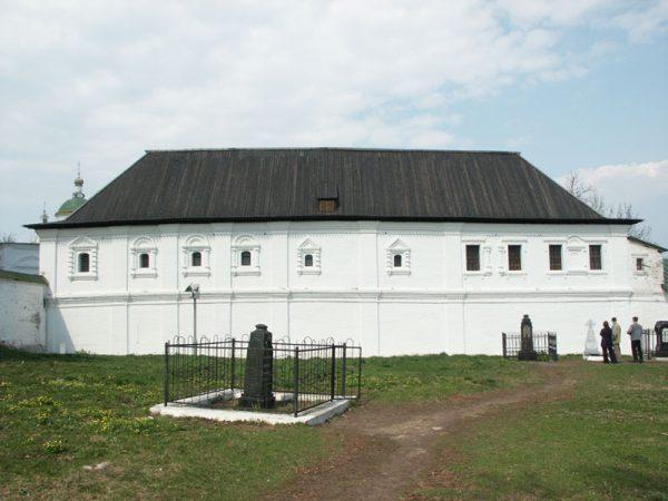 Консисторский корпус в Рязанском кремле