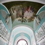 Потолок над Мраморной лестницей