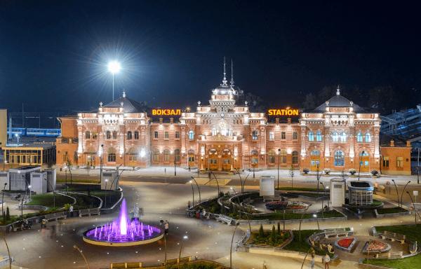 Привокзальная площадь Казани