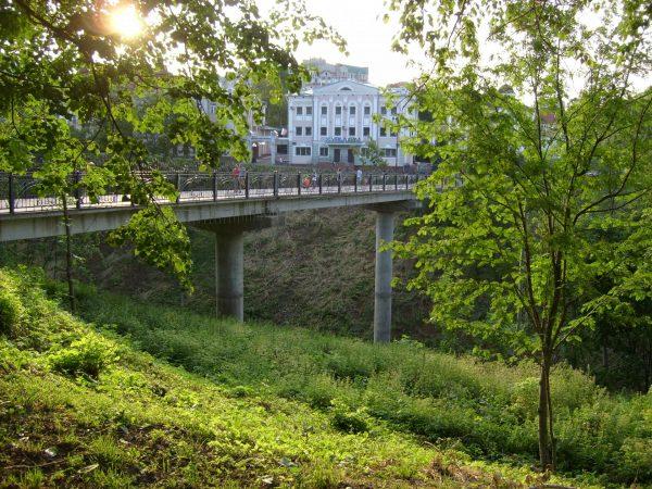 Раздерихинский овраг и Мост влюблённых