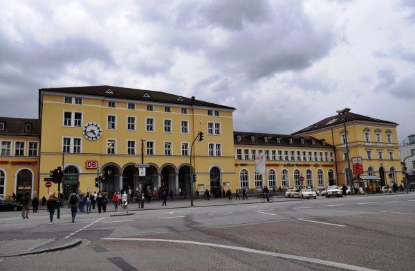 Вокзал Регенсбурга