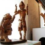 Скульптура «Голубок»