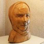 Скульптура «Портрет жены»