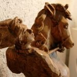 Скульптура «Разведчик»