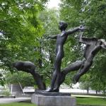 Скульптура «Мир без войны»