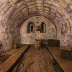 Старинная комната в монастырском музее