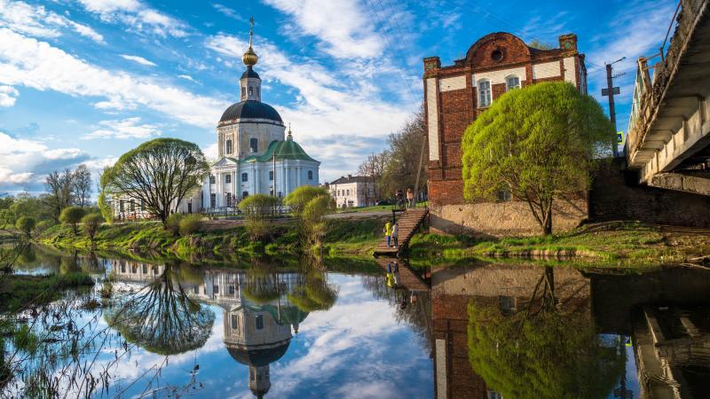 Вязьма: город православных и военных достопримечательностей