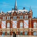 Внешний вид музея дизайна в Хельсинки