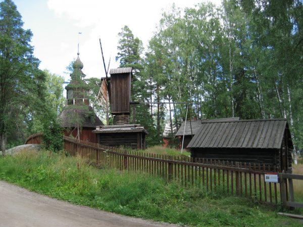 Музей под открытым небом на острове Сеурасаари в Хельсинки