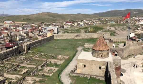 Крепость Эрзурум в центре старой части города
