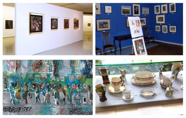 Экспозиции картинной галереи Пранаса Домшайтиса