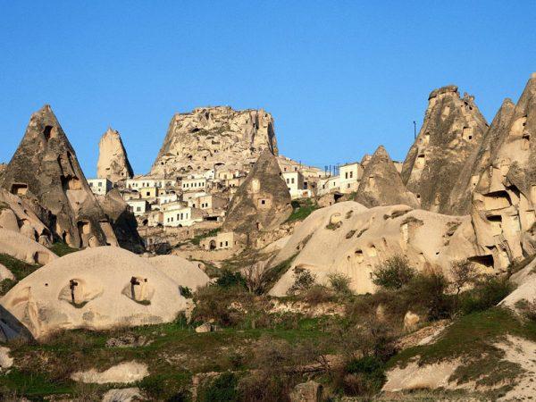 Подземный город Каймаклы в Каппадокии