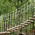 Канатная лестница в парке «Кар-кар»