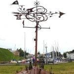 Скульптура «Ветер» в Клайпеде