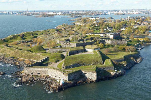 Морская крепость Суоменлинна в Хельсинки