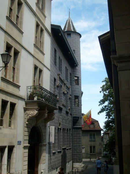 Дом Тавель в Женеве