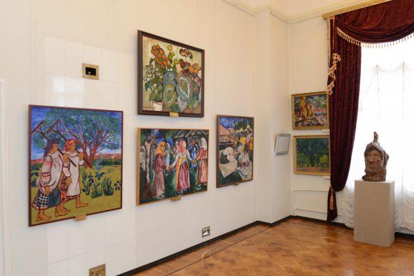 Картины Гончаровой в Историко-художественном музее Серпухова