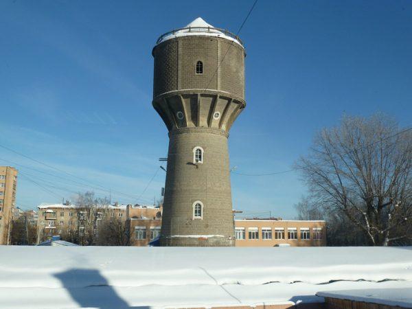 Водонапорная башня в Серпухове
