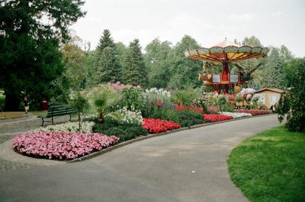 Детский городок в ботаническом саду Женевы