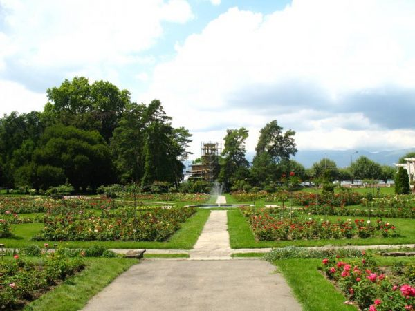 Парк Ла Гранж в Женеве