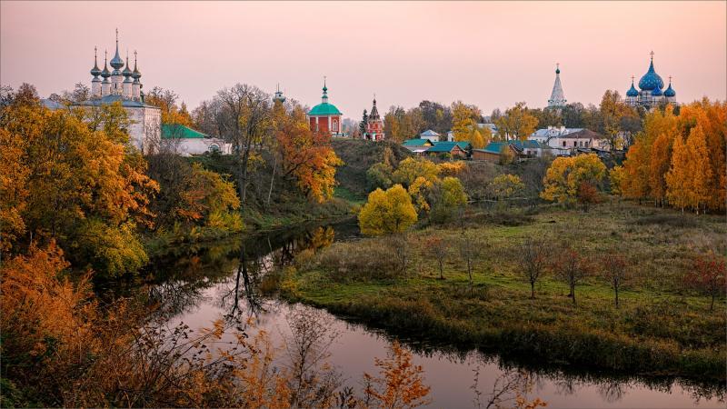 Суздаль — сердце Золотого Кольца России